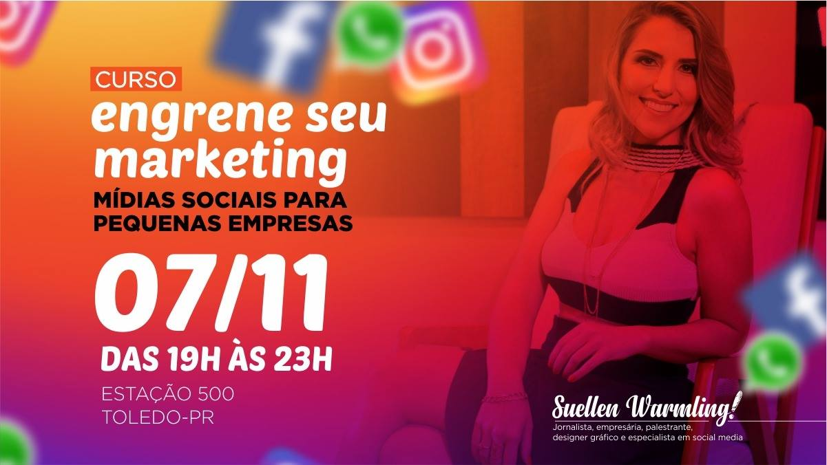 Workshop: Engrene seu Marketing - Mídias Sociais para Pequenas Empresas