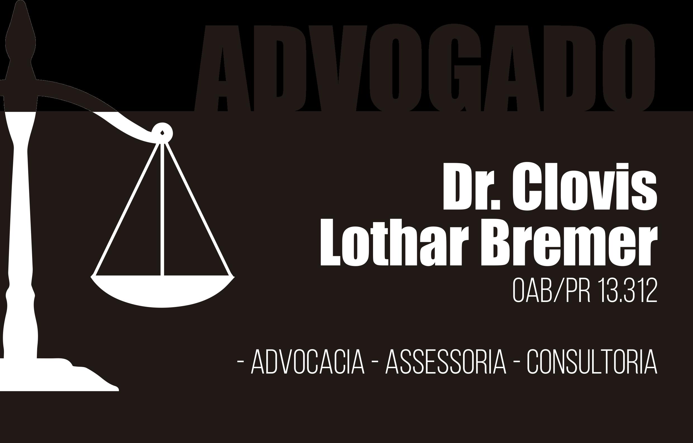 Advogado Dr. Clovis Lothar Bremer